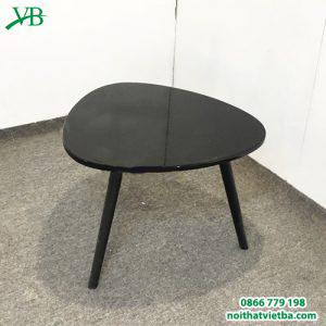 Bàn kính hình elip đen VB-6601