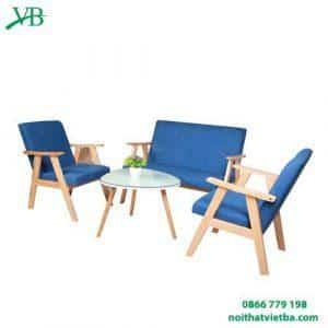 Ghế sofa cafe màu xanh giá rẻ tại hà nội