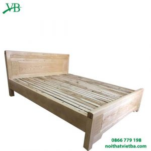 Giường gỗ sồi giá rẻ 2M VB-4005