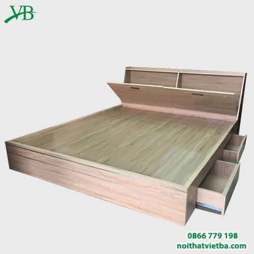 Giường ngủ ngăn kéo đầu giường VB-4017