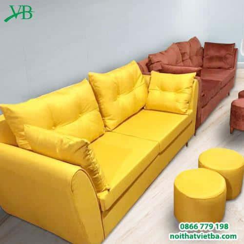 Sofa 2 lớp nhiều màu sắc VB-6051