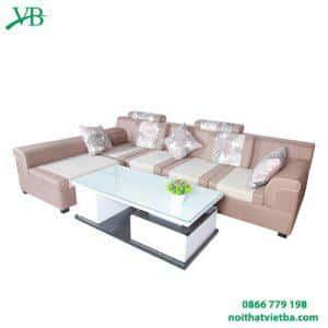 Sofa nỉ chữ L hiện đại VB-6036