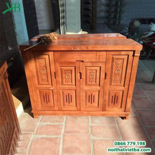 Tủ giày gỗ sồi 4 cánh VB-4209