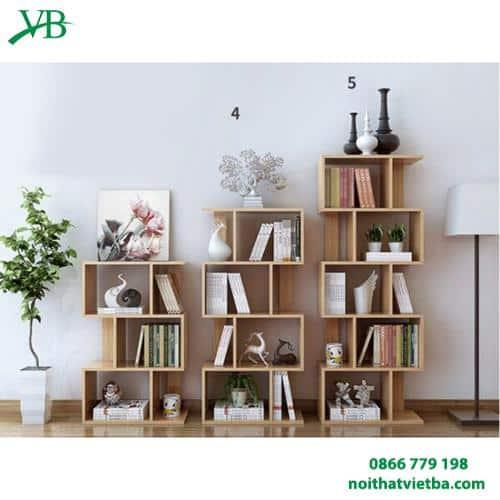 Giá sách gỗ đẹp giá rẻ VB-4614