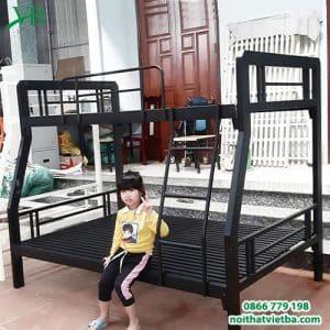 Giường sắt lệch tầng 1M2 X 2M VB-4321
