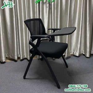 Ghế liền bàn màu đen giá rẻ VB-3210